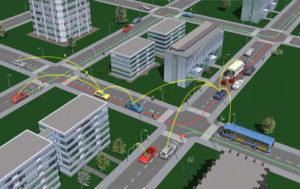 Car2Car_CityScenario